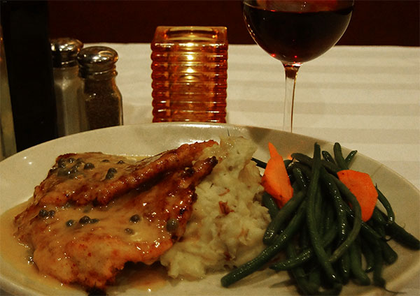 Anthony Jacks Restaurant Southington CT | Chicken Dinner