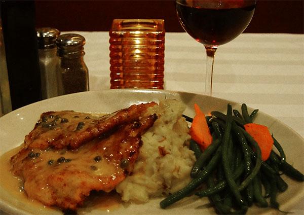 Anthony Jacks Restaurant Southington CT | Chicken Dinner